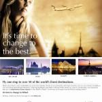 Change to the Best by Etihad Airways