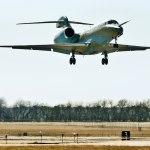 First Citation Ten business jet take off