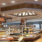 Wafi food outlet concept for purpose built A380 facility at Dubai International Airport