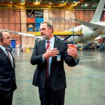 airberlin and Etihad Airway visit the Boeing 787 Everett production facility