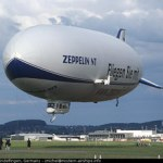 This is a modern Zeppelin