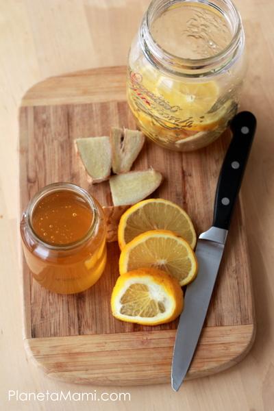 Coaja de lamaie cu miere