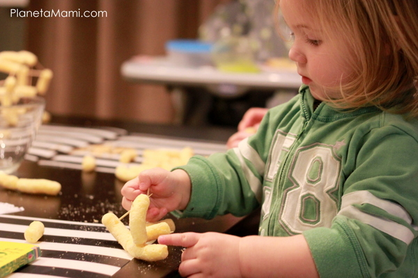 Activitate pentru copii cu scobitori