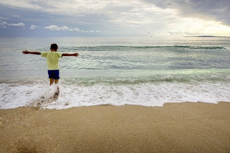 vacaciones y niños