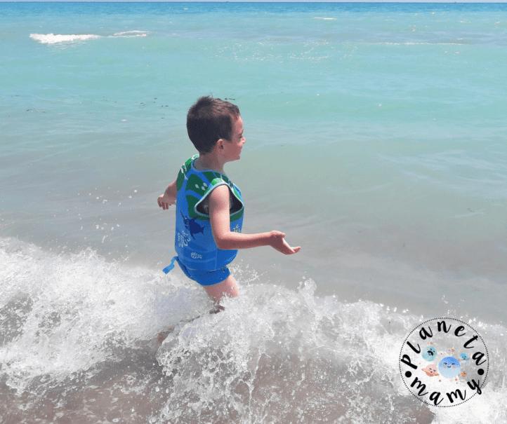 seguridad infantil en el agua