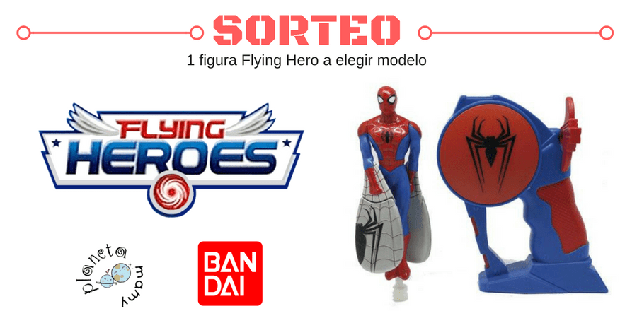 Juguetes Flying Heroes