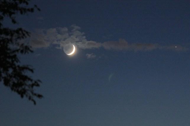 La Lune à rendez-vous avec Vénus