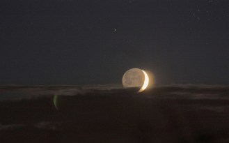 Lune cendrée