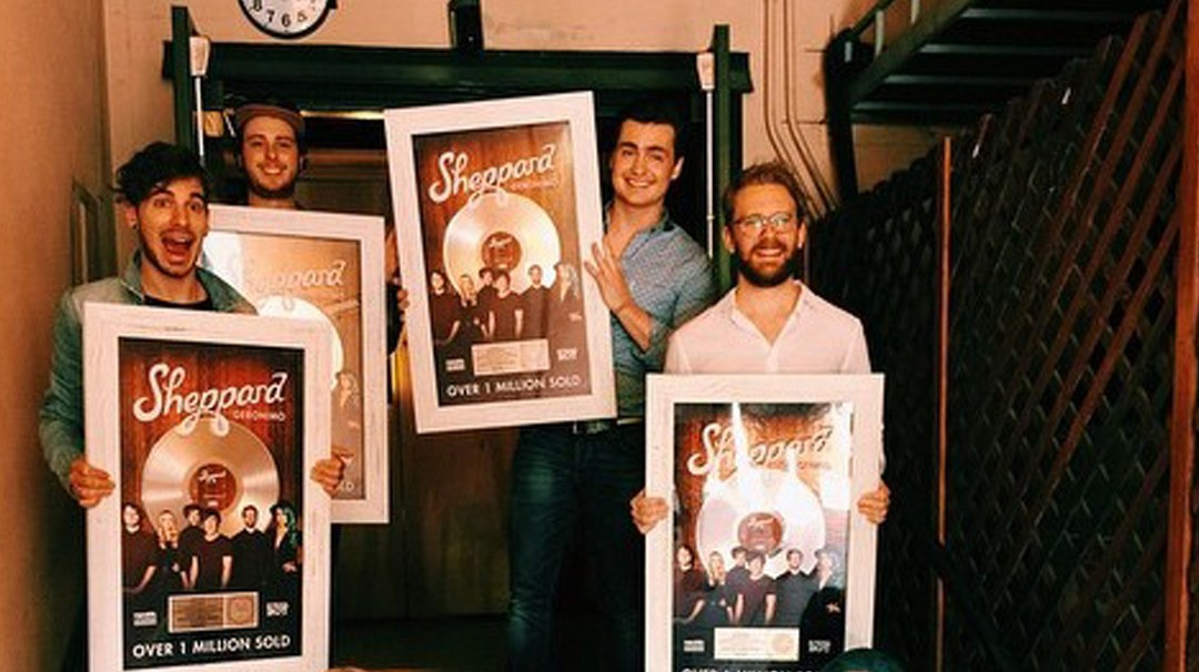 """Planetary's Sheppard Goes Platinum in US with """"Geronimo"""""""