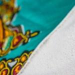 Babero tela africana para bebe