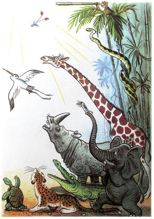 доктор Айболит животные встречают доктора радость