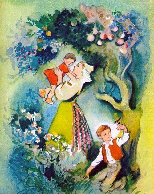 падчерица и ее дети