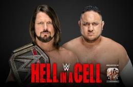 AJ Styles defenderá el WWE Championship contra Samoa Joe en Hell in a Cell