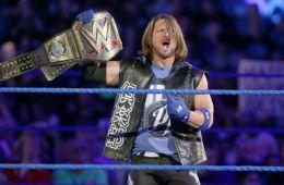 Aj Styles en Wrestlemania 35
