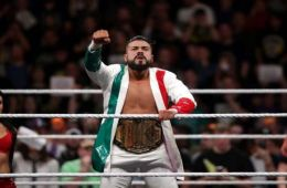 "Andrade ""Cien"" Almas WWE"