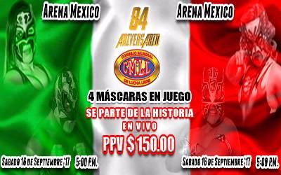 Aniversario 84 CMLL Arena México
