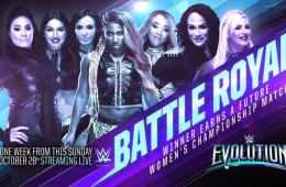 Battle Royale para determinar la próxima aspirante a cualquier Women's Championship en WWE Evolution