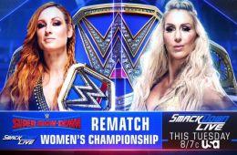 Becky Lynch vs Charlotte en Smackdown