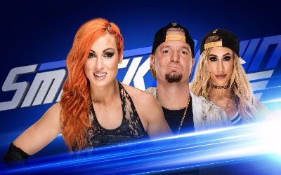 Becky Lynch vs James Ellsworth en Smackdown