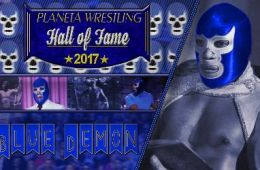 Blue Demon Jr. al Planeta Wrestling Hall of Fame 2017