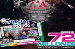 Boleto Conmemorativo 25 Años AAA