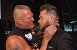 Brock Lesnar atacó a Mike Rome al acabar WWE RAW