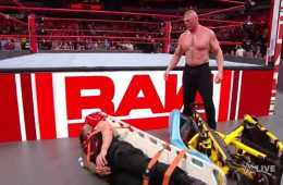 Brock Lesnar destroza a Roman Reigns en WWE RAW