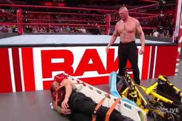 Brock Lesnar destroza a Roman Reigns en WWE RAW