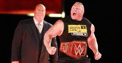 WWE noticias Brock Lesnar Raw