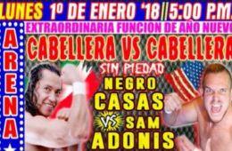 CMLL 1ero De Enero 2018
