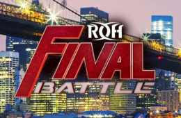 Cartelera actualizada para ROH Final Battle 2018