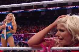 Charlotte Flair Survivor Series 2017