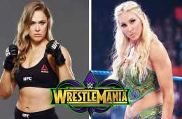 Charlotte Flair quiere enfrentar a Ronda Rousey en Wrestlemania