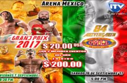 CMLL Combo PPV Grand Prix-Aniversario 84
