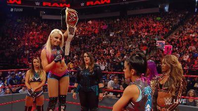 Division femenina de RAW WWE Noticias