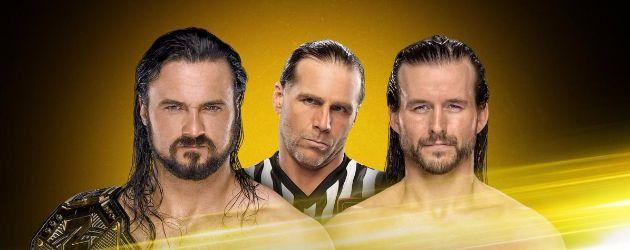 Drew McIntyre vs. Adam Cole por el título de NXT con Shawn Michaels de árbitro