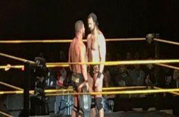 Drew McIntyre y Bobby Roode ayer en San Diego
