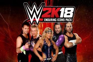 EL PACK ICONOS ETERNOS DE WWE 2K18 YA DISPONIBLE