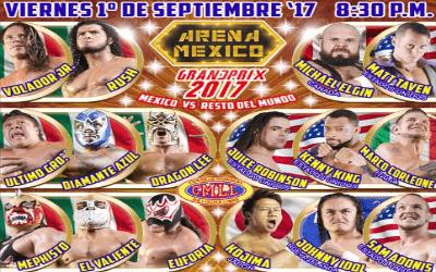 CMLL Grand Prix 2017 Cobertura