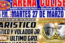 Homenaje a Dos Leyendas Guadalajara
