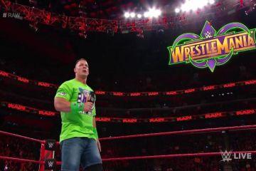 John Cena reta a Undertaker a un combate en Wrestlemania