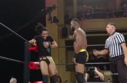 Kenny King derrotó a Eli Isom en ROH Final Battle