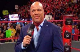 Kurt Angle habla sobre el anuncio de Roman Reigns