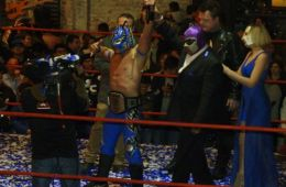 Laredo Kid Campeón de Lucha Capital de Triple A