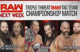 Los campeonatos por parejas de RAW en juego la semana que viene en WWE RAW
