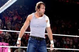 Luchadores lesionados Dean Ambrose