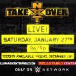 Se anuncia el especial de NXT en Filadelfia antes de Royal Rumble