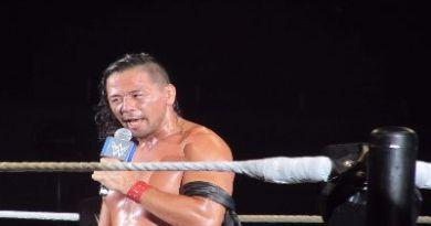 Nakamura en el live show de Osaka