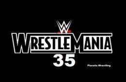 Novedades del anuncio sobre Wrestlemania 35
