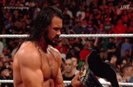 Drew McIntyre fue atacado por Adam Cole en NXT Takeover Brooklyn